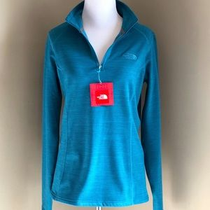 NWT The North Face Fleece Pullover Sweater Blue, S